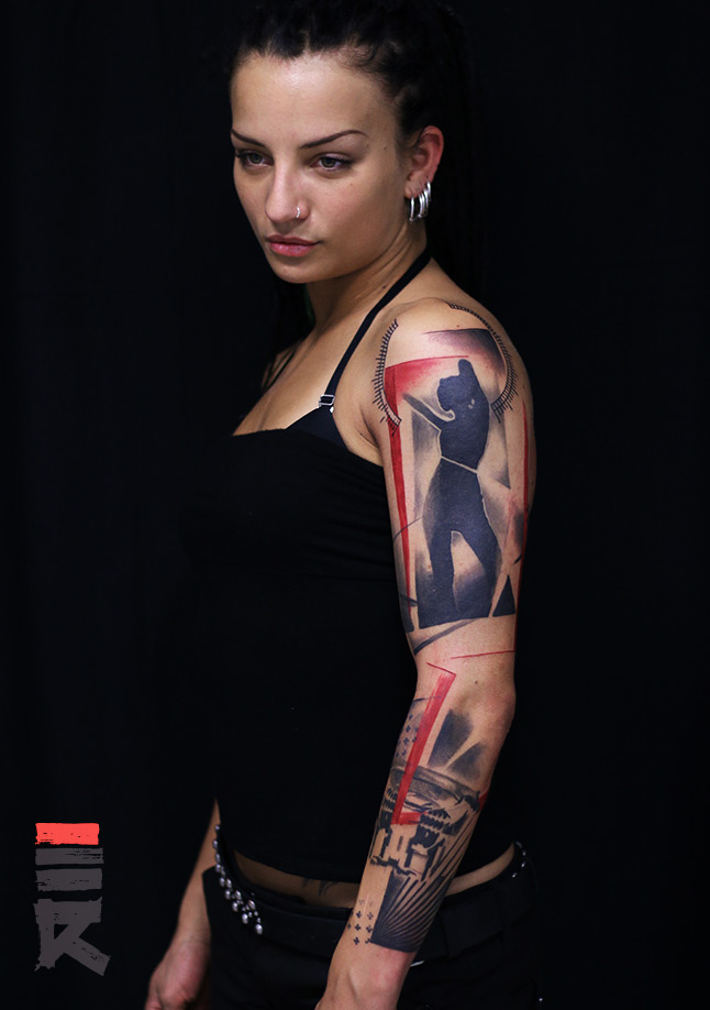 207-speaker-dancer-trash-polka-enhancer-tattoo-trnava